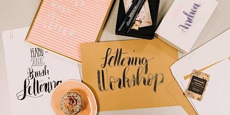 Handlettering und Brushlettering Workshop - Summer Lettering Special tickets