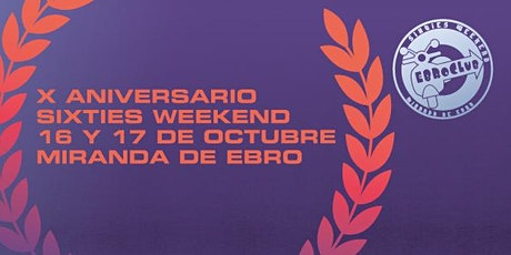 EbroClub Sixties Weekend Festival 2020 entradas