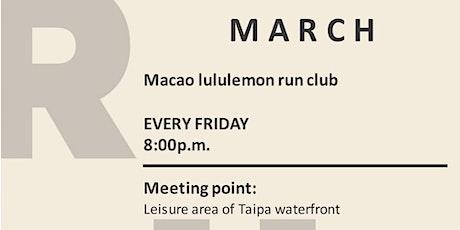 Macao lululemon Run Club  tickets