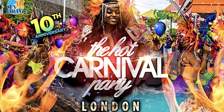 Notting Hill Carnival 2021- The Hot Carnival Party entradas