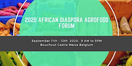 2020 African Diaspora Agrofood Forum billets