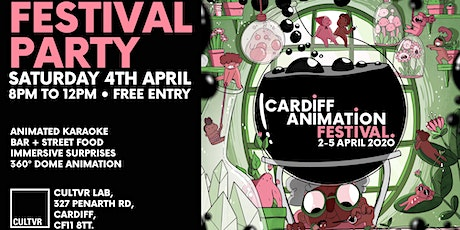 CARDIFF ANIMATION FESTIVAL CLOSING PARTY tickets