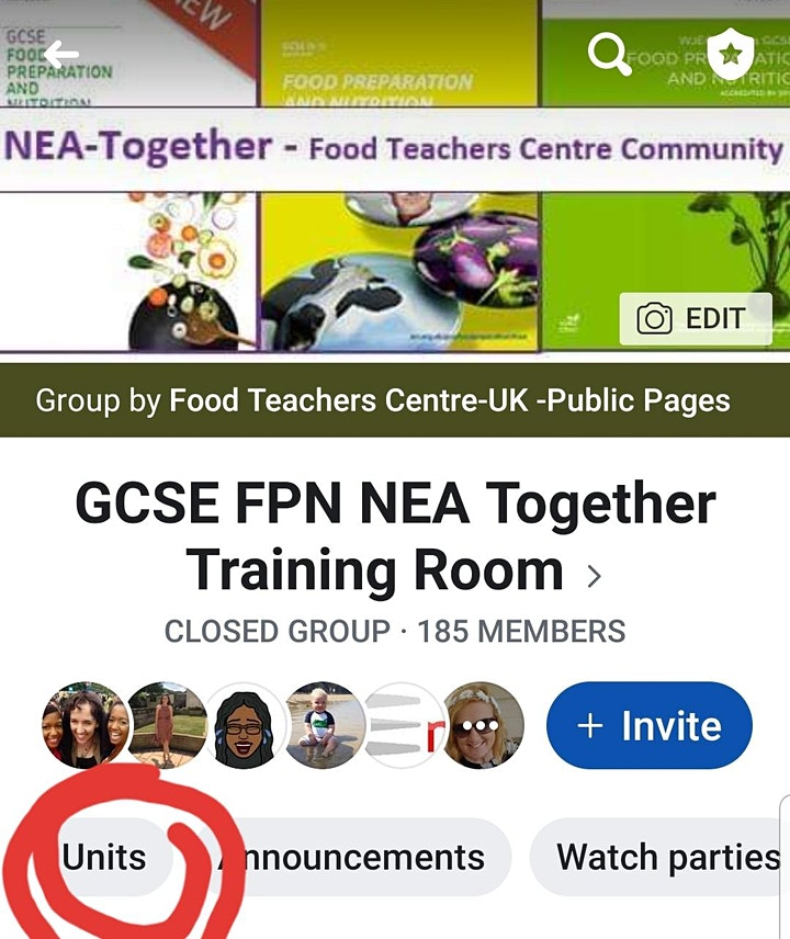 NEA Together and Revision (On -Line training room) image