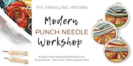 Modern Punch Needle Workshop tickets