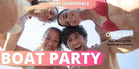 #savage BOAT PARTY in FORT LAUDERDALE tickets