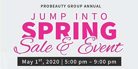 Jump Into Spring Sale & Event tickets