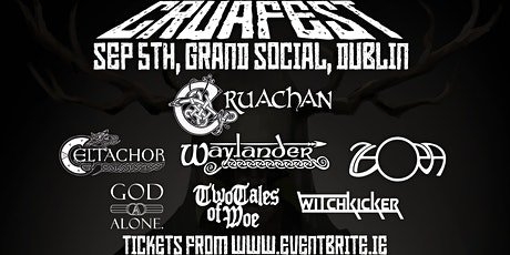CRUAFEST - Cruachan, Waylander, Celtachor and more tickets