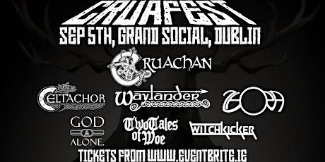 CRUAFEST - Cruachan, Waylander, Celtachor and more tickets