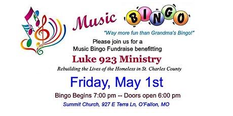 Luke 923 Music Bingo tickets