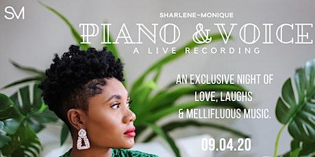 Piano & Voice tickets