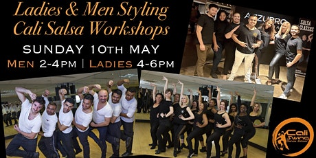Ladies and Men Styling Cali Salsa Workshops tickets