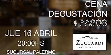 Cena degustación (Bodega Familia Zuccardi) entradas