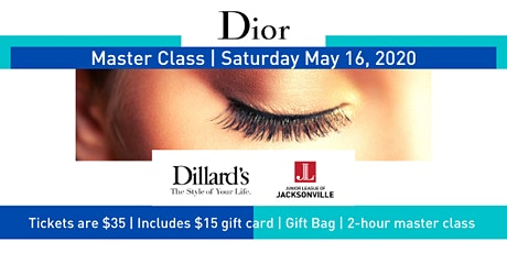 Dillard's / Dior Fundraiser - Junior League of Jacksonville tickets