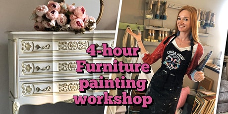 Furniture painting workshop, 4 hours tickets