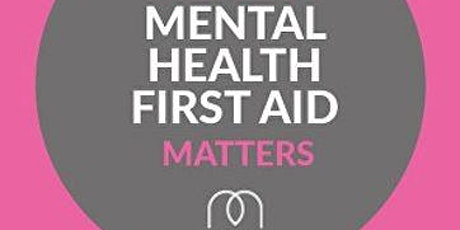 Mental Health First Aid (20MHFA01) tickets