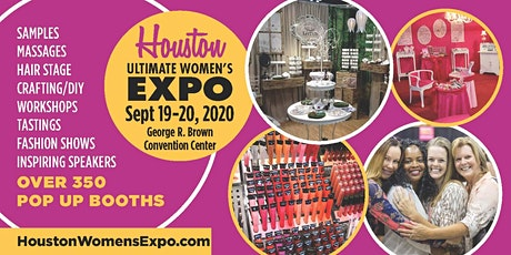 Houston Women's Expo Sept 19-20, 2020 Beauty + Fashion + Pop Up Shops + DIY,  tickets