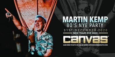 Martin Kemp Presents The 80's NYE Party