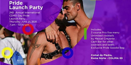 2nd International Pride Launch Party! billets
