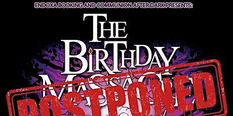 The Birthday Massacre @ The Orpheum tickets
