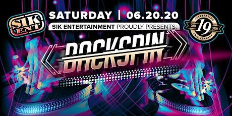 Backspin Feat. DONALD GLAUDE, RICHARD VISSION, DJ IRENE plus much more. tickets