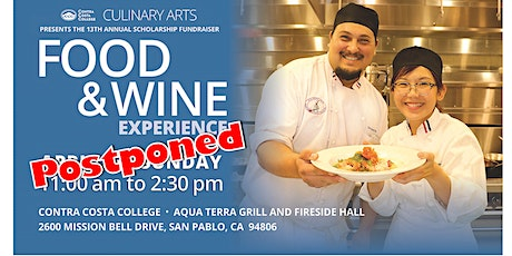 The 13th Annual Food and Wine Event POSTPONED tickets
