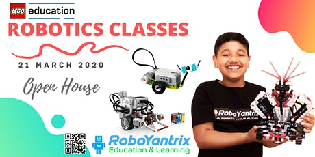 Robotics Classes  (Ages 5 to 13 Yrs) - Open House tickets