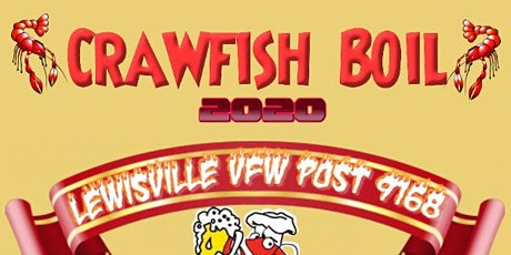 VFW Post 9168 Crawfish Boil tickets