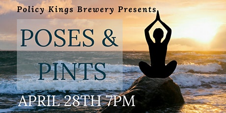 Poses and Pints tickets