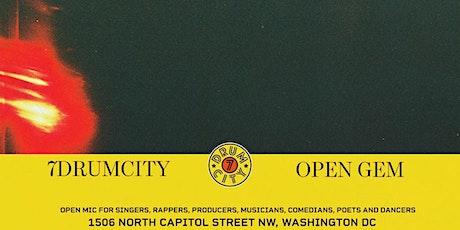Open Gem Open Mic tickets