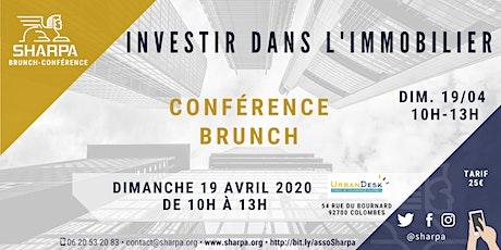 Investir dans l'immobilier, Conférence Brunch tickets