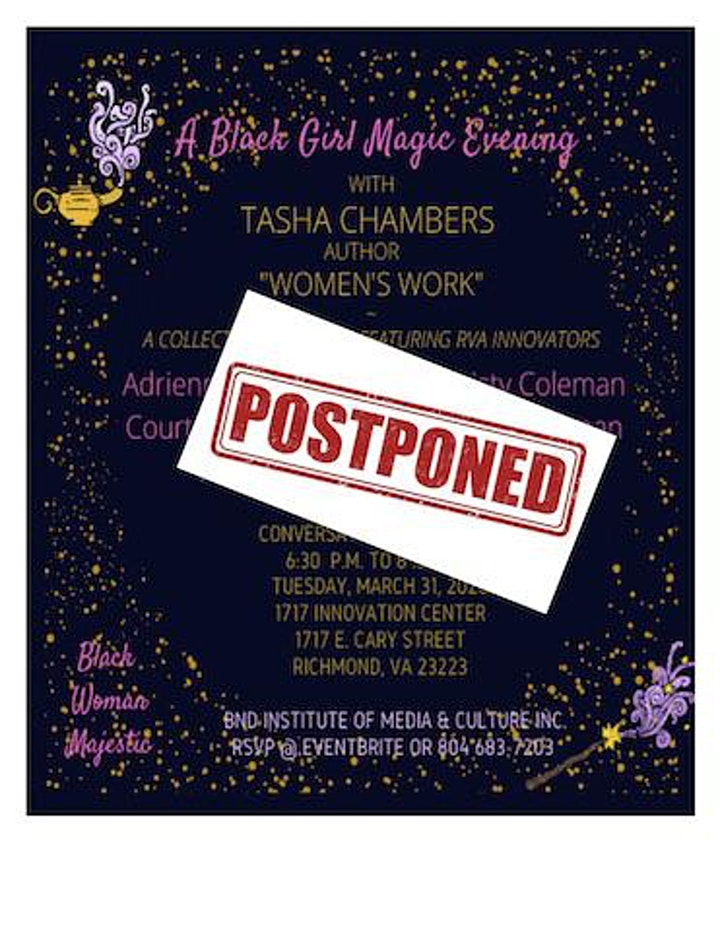 A Black Girl Magic Evening with Tasha Chambers image
