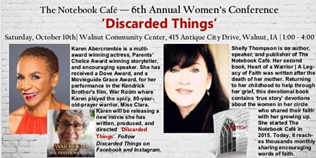 The Notebook Cafe 6th Annual Women's Conference!! tickets