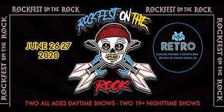 Rockfest on the rock tickets