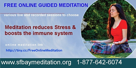 Free Online Guided Meditation Classes tickets