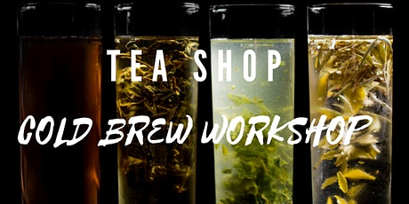 Tea Shop YYC: The Coldbrew Workshop tickets