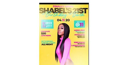 FINALLY LEGAL Shabel's Birthday Bash tickets