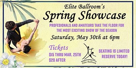 Ballroom Dance Spring Showcase at Elite Ballroom tickets