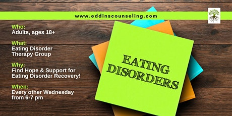Eating Disorder Therapy Group tickets