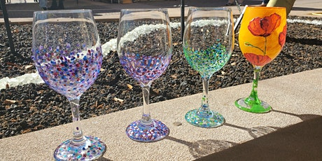 Spring Fling Wine Glass Painting at LDV Winery tickets