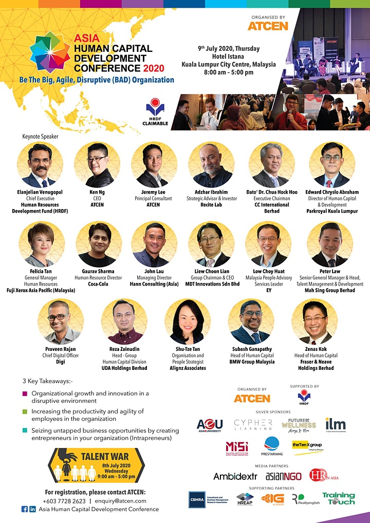 Asia Human Capital Development Conference 2020 image