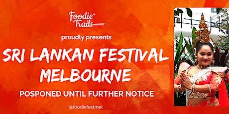 Sri Lankan Festival Melbourne tickets