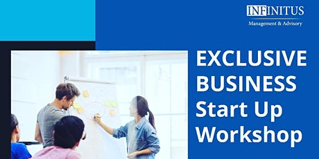 Exclusive Business Start Up Workshop tickets