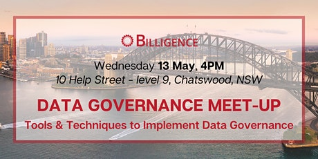 Tools & Techniques to Implement Data Governance Meet-up tickets