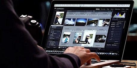 Editing Essentials in Lightroom (Online) tickets