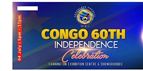 CONGO 60TH INDEPENDENCE CELEBRATION  tickets