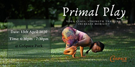 Yoga Class: Primal Play (Online Session) tickets