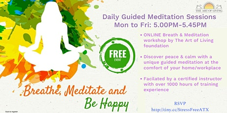 Online Breath and Meditation Session tickets
