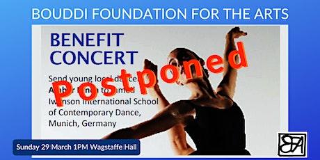 POSTPONED - please consider donating online tickets
