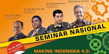 Seminar Nasional Teknologi Industri Hijau (SNTIH) 3 tickets