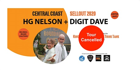 Cancelled - HG NELSON + DIGIT DAVE SELLOUT 2020 - COMEDY TOUR tickets